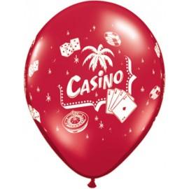 """Globos de 12"""" Casino"""