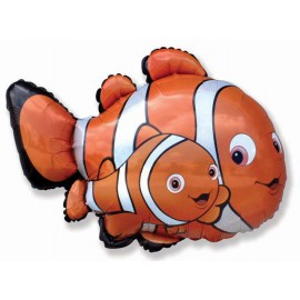 "Globos de foil de 27"" X 34"" Nemo 2 supershape"