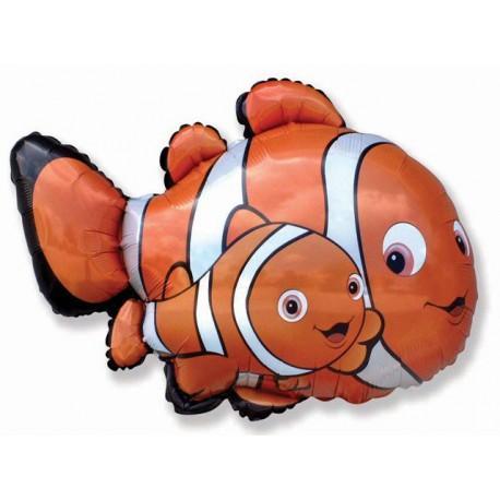 """Globos de foil de 27"""" X 34"""" Nemo 2 supershape"""
