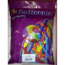 Globos de modelar 260 Balloonia Colores Surtidos