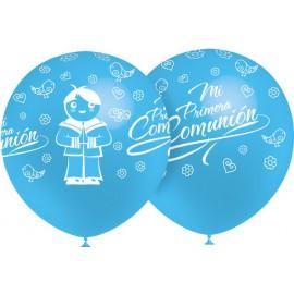 """Globos de 12"""" Comunion Niño Balloonia"""