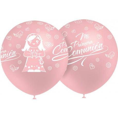 """Globos de 12"""" Comunion Niña Balloonia"""