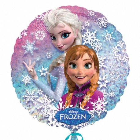 """Globos de foil 18"""" (45Cm) Frozen Holografico"""