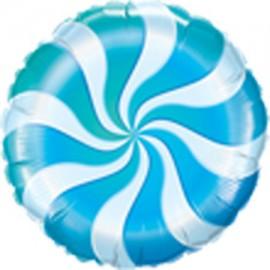 """Foil 18"""" (45Cm) Caramelo Azul"""