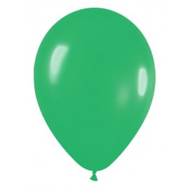 "Globos de 5"" Fashion solido verde JADE"