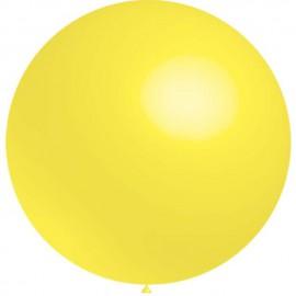 Globos de latex de 2Ft (61Cm) Amarillo Limon Balloonia
