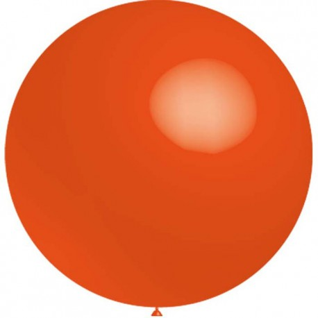 Globos de latex de 2Ft (61Cm) Naranja Balloonia