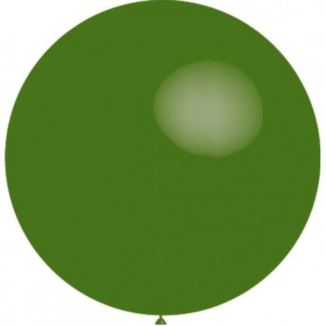 Globos de latex de 2Ft (61Cm) Verde Bosque Balloonia