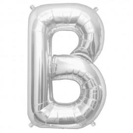 """Globos de Foil de 16"""" (41cm) Letra B"""