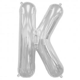 "Globos de Foil de 16"" (41cm) Letra K"