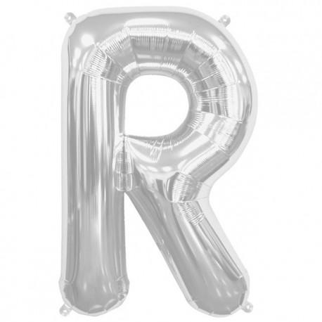 """Globos de Foil de 16"""" (41cm) Letra R"""