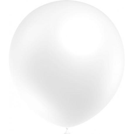 """Globos de 12"""" (30Cm) Blanco Balloonia"""