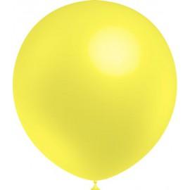 """Globos de 12"""" (30Cm) Amarillo Limon Balloonia"""