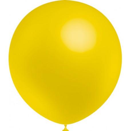 """Globos de 12"""" (30Cm) Amarillo Balloonia"""
