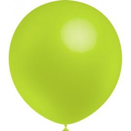 """Globos de 12"""" (30Cm) Verde Lima Balloonia"""