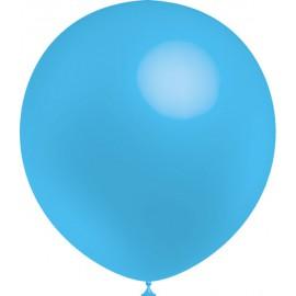 """Globos de 12"""" (30Cm) Azul Celeste Balloonia"""