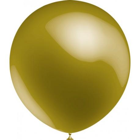 """Globos de 12"""" (30Cm) Oro Metal Balloonia"""