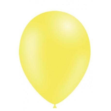 """Globos de 5"""" Amarillo Limon Balloonia"""