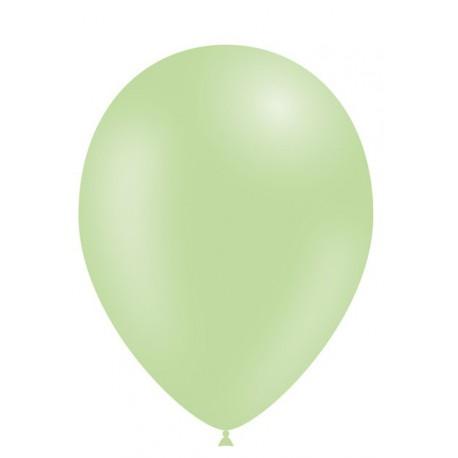 """Globos de 5"""" Verde Menta Balloonia"""