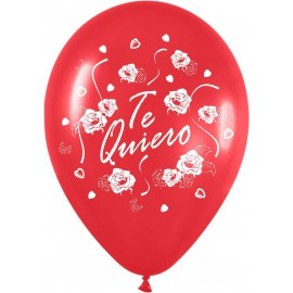 """Globos de 12"""" Te quiero"""