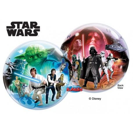 """Globos de foil de 22"""" Bubbles Star Wars"""