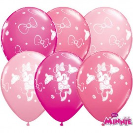 "Globos de 11"" Surtido Minnie Qualatex"