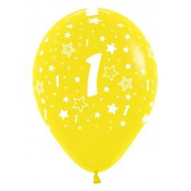 Globos R-12 (30Cm) Número 1