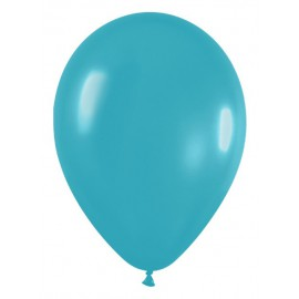 "Globos de 5"" Fashion solido Turquesa"