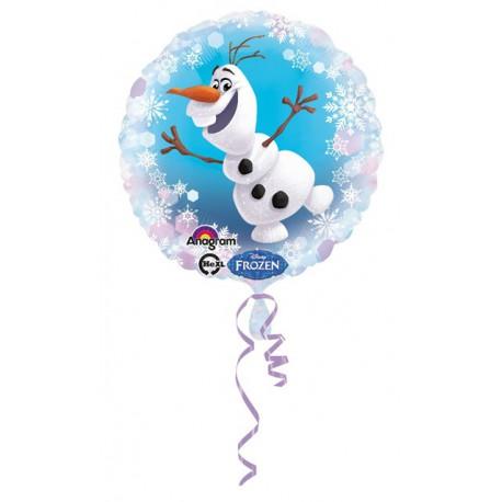 """Globos de foil 18"""" (45Cm) Olaf"""