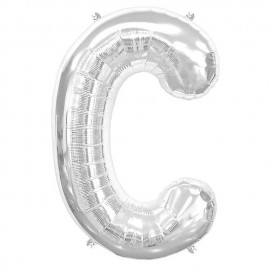 "Globos de Foil de 34"" (86cm) Letra C"