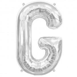 """Globos de Foil de 34"""" (86cm) Letra G"""