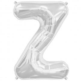 """Globos de Foil de 34"""" (86cm) Letra Z"""