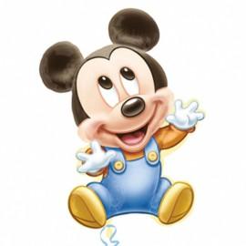 "Globos de foil supershape de 32"" X 25"" Baby Mickey"