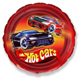 "Globos de foil de 18"" (45Cm) Hot Cars"