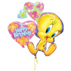 "Globos de foil de 32"" Piolin happy birthday"
