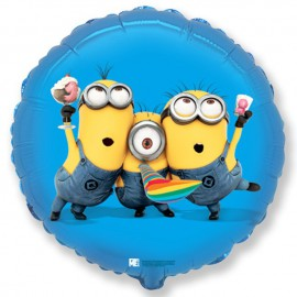 "Globos foil 18"" (45Cm) Minions Party"