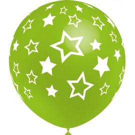 """Globos de 12"""" Estrellas Balloonia"""