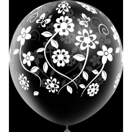 """Globos de 12"""" Flores Boda Balloonia"""