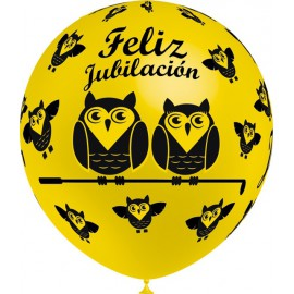 """Globos de 12"""" Jubilacion Balloonia"""