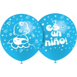 "Globos de 12"" Es Un Niño Balloonia"