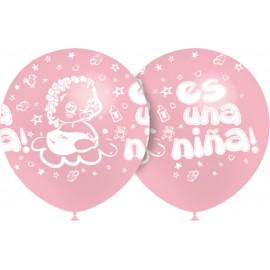 """Globos de 12"""" Es Una Niña Balloonia"""