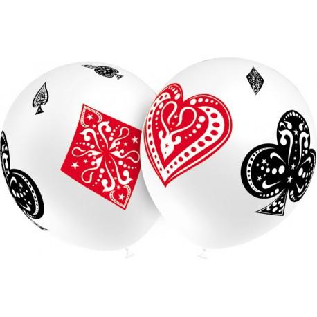 """Globos de 12"""" Poker Balloonia"""