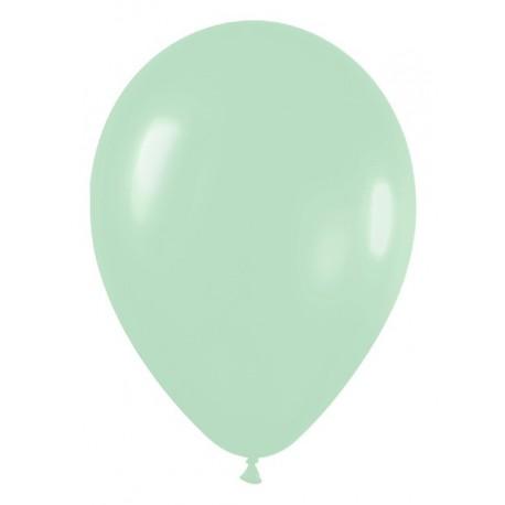 "Globos de 5"" Fashion Pastel verde"