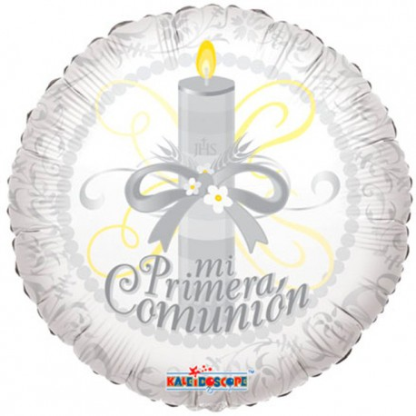 """Globos de foil 18"""" (46Cm) Mi Primera Comunión"""