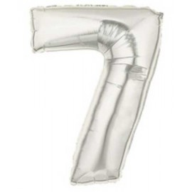 """Globos de Foil de 7"""" (18cm) Numero 7"""