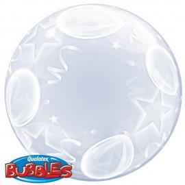 """Globos de foil de 24"""" Bubbles Globos y Estrellas"""