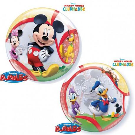 """Globos de foil de 22"""" Bubbles Mickey y Amigos"""