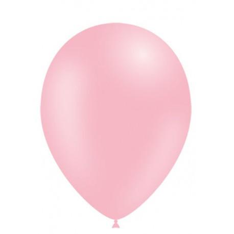 """Globos de 11"""" (28cm) Rosa Baby Balloonia Bolsa 50"""