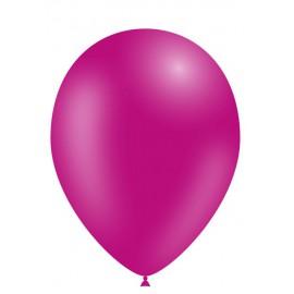 """Globos de 11"""" (28cm) Fucsia Balloonia Bolsa 50"""