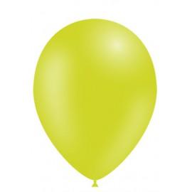 """Globos de 11"""" (28cm) Verde Lima Balloonia Bolsa 50"""